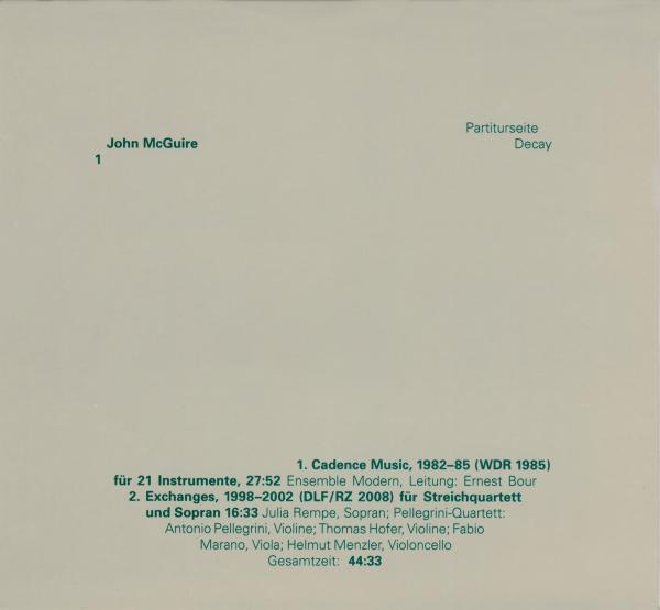 John McGuire - edition rz