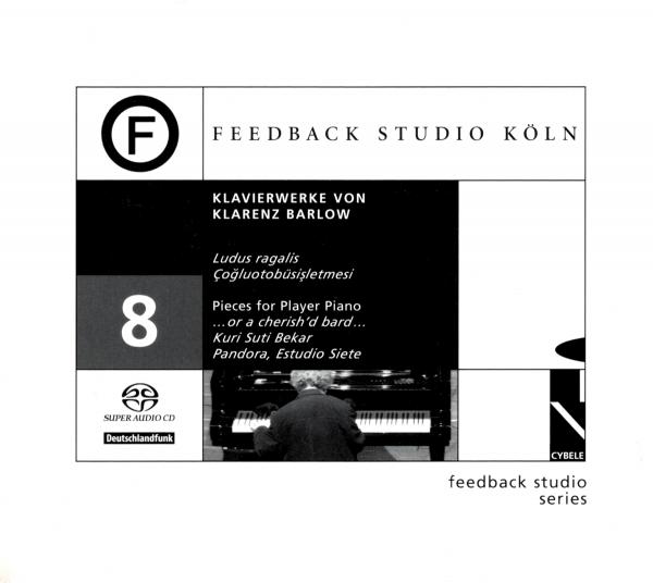 Klarenz Barlow - Klavierwerke - CYBELLERECORDS