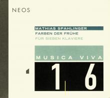 Mathias Spahlinger - Farben der Frühe - NEOS Music